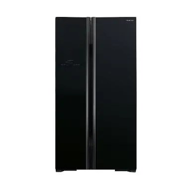 Hitachi RS80PGD2GBK Side By Side Refrigerator