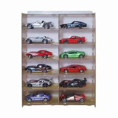 Hot Wheels D26 Acrylic Rak Display [2 x 6]