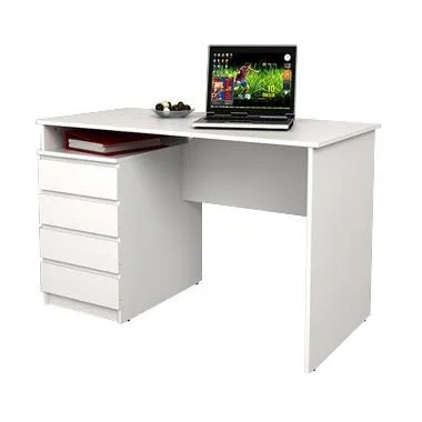 JYSK Desk Mesinge 4 Drawers - White