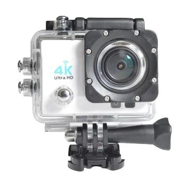 Kogan 4K UltraHD Putih Action Camera [Wifi/16MP]