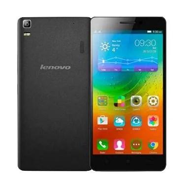 Lenovo A7000 Plus Smartphone -Black [4G LTE/RAM 2 GB/16 GB]