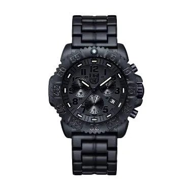 Luminox Navy SEAL 3082.BO Chronograph Blackout Jam Tangan Pria