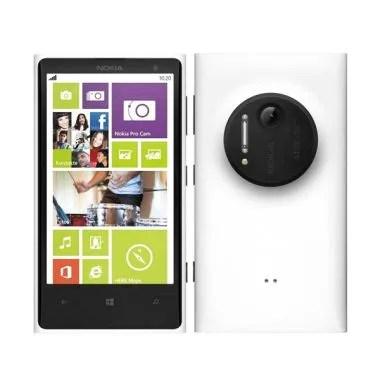 Microsoft Lumia 1020 Smartphone - White [RAM 2GB/32GB/Garansi Resmi]