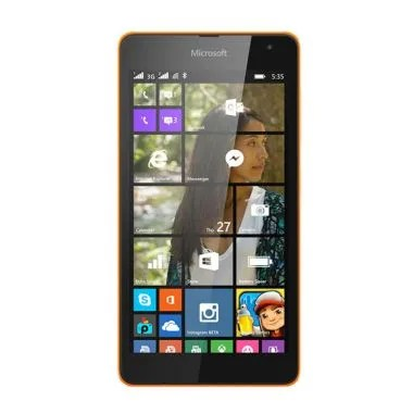 Microsoft Lumia 535 Smartphone - Orange [8 GB/Dual SIM]