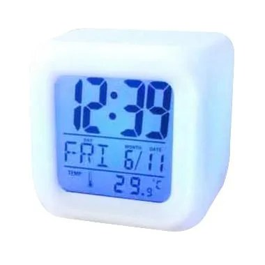 Murmer Color Change Moodicare LED Digital Alarm Clock [7 Warna]