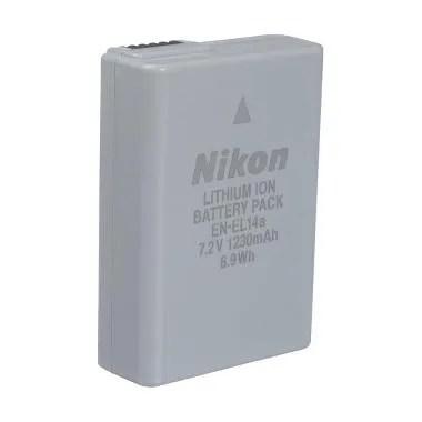 Nikon EN-EL14A Battery for DF/D3100 ... 0/D5200/D5300 Tokocamzone