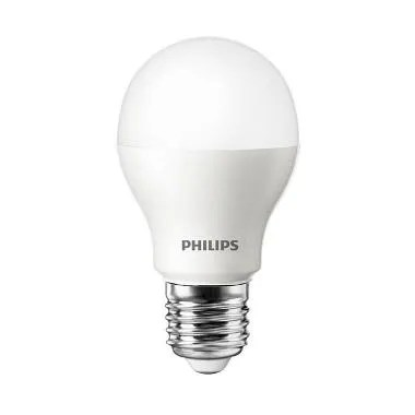 Philips LED Putih Lampu Bohlam [6 W-50 W/1 Pcs]