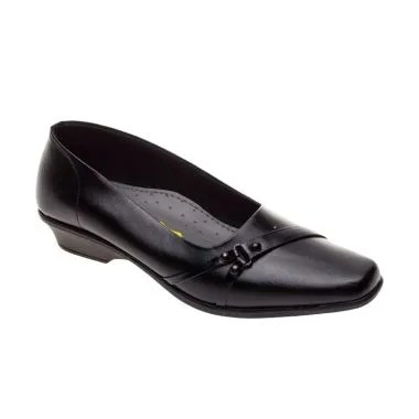 Vindy's Tulib 303 Black Sepatu Wani ...