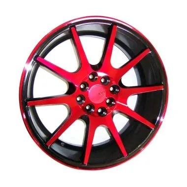 pelek grand new veloz all-new 2019 toyota corolla altis sedan jual velg mobil avanza terbaru harga murah replika vossen vfs1 black red 17 inch
