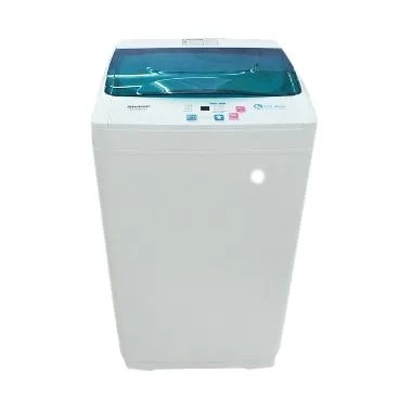 Sharp ES-G865P-G Mesin Cuci [Top Loading/6 Kg]