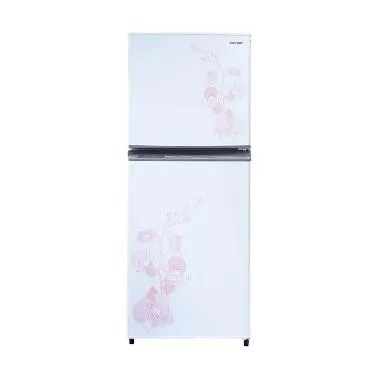 SHARP Kirei SJ-236MD Kulkas - White [2 Pintu]