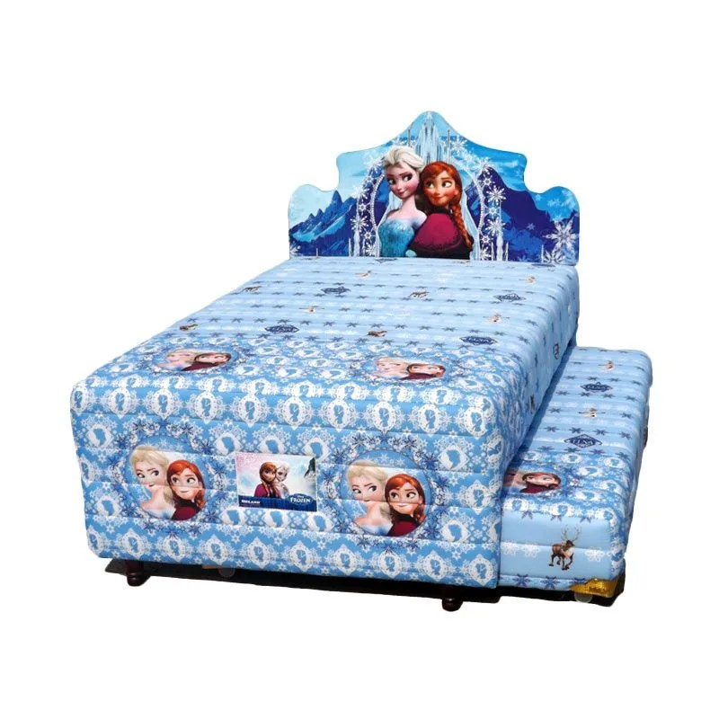 Bigland 2 in 1 Frozen Biru Set Spri ...