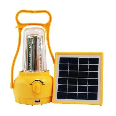 Solar Led Light With USB Port