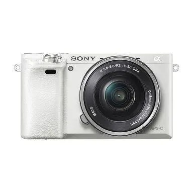 Sony ILCE-6000L White Kamera Mirrorless