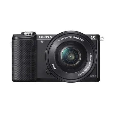 Sony Alpha A5000 KIT 16-50mm f/3.5-5.6 Black Kamera Mirrorless