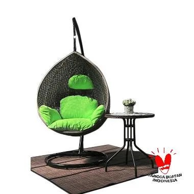 The Olive House Swing Chair Oval (Warna Bisa Request)