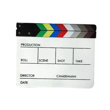 Third Party Acrylic Magnet Clapper Board