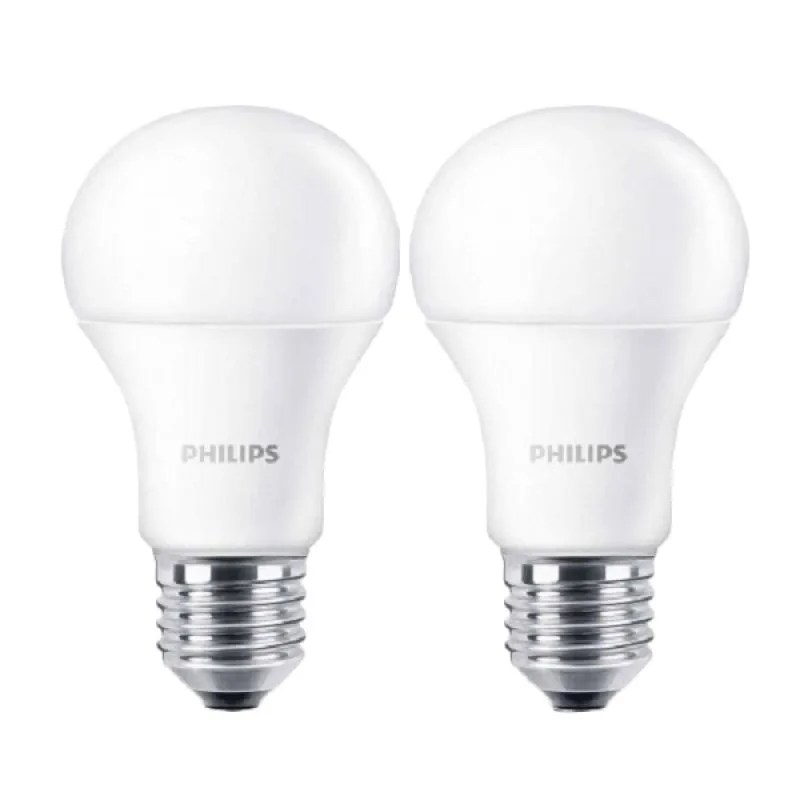 Philips LED Bulb A60 Putih Lampu [9 ...