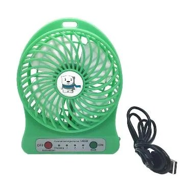 Tokuniku HADATA F95B Hijau USB Mini Fan