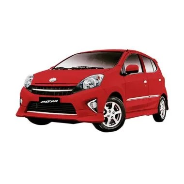 Toyota Agya 1.0 E M/T Red Mobil