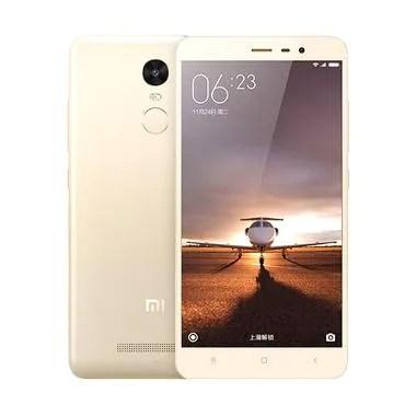 Xiaomi Redmi Note 3 Smartphone - Gold [Mediatek]