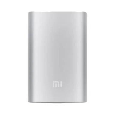 Xiaomi Silver Powerbank [10000 mAh/Original] - Silver