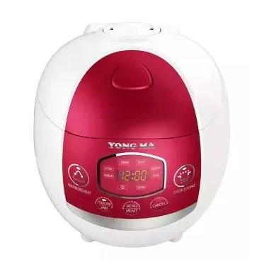 Yong Ma MC1380 Red Digital Rice Cooker [1.3L]