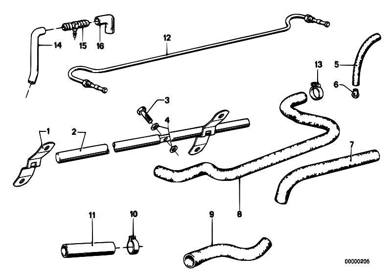 Original Parts for E21 318i M10 Sedan / Engine/ Crankcase