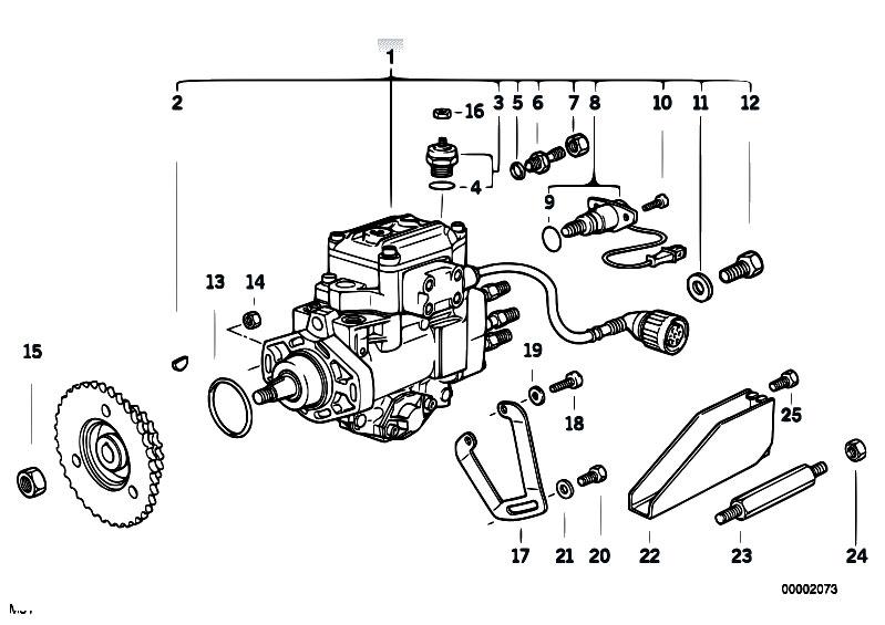 Original Parts for E34 525tds M51 Touring / Fuel