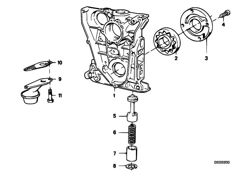 Original Parts for E30 318i M40 2 doors / Engine