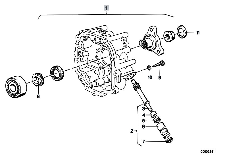 Original Parts for E12 528i M30 Sedan / Manual