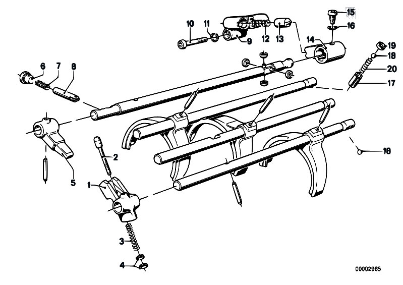 Original Parts for E12 528i M30 Sedan / Manual