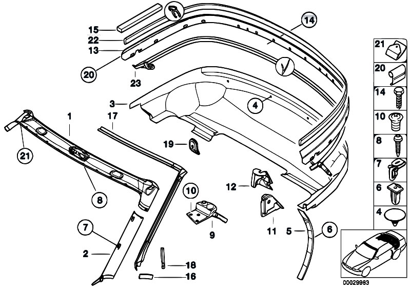 Bmw Z3 Body Diagram, Bmw, Free Engine Image For User
