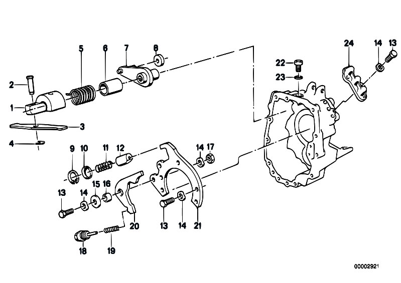 Original Parts for E34 M5 S38 Touring / Manual