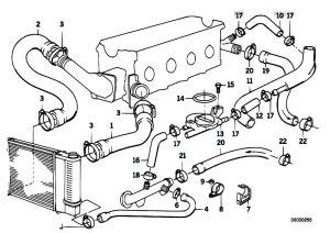 Original Parts for E30 318i M40 Cabrio  Engine Cooling