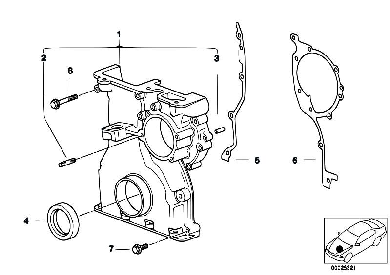 Original Parts for E60 530i M54 Sedan / Engine/ Timing