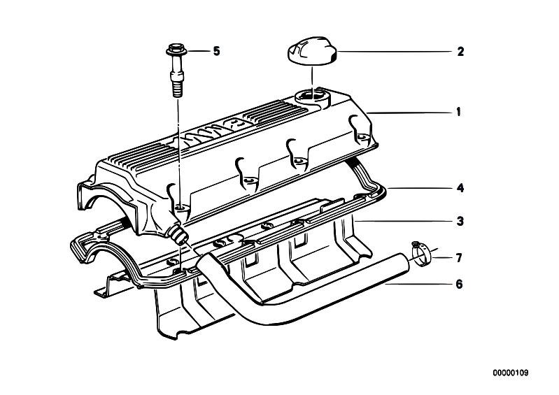 Original Parts for E30 318i M40 2 doors / Engine/ Cylinder