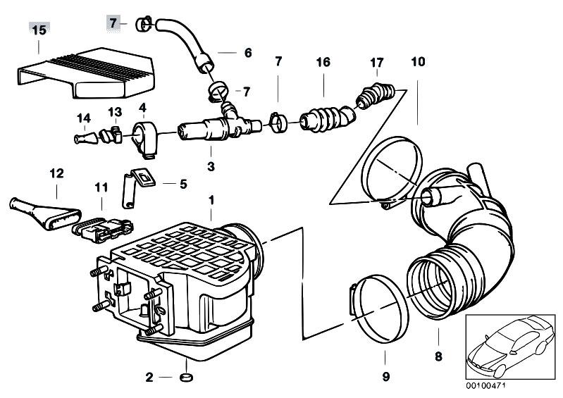 Original Parts for E34 520i M20 Sedan / Fuel Preparation