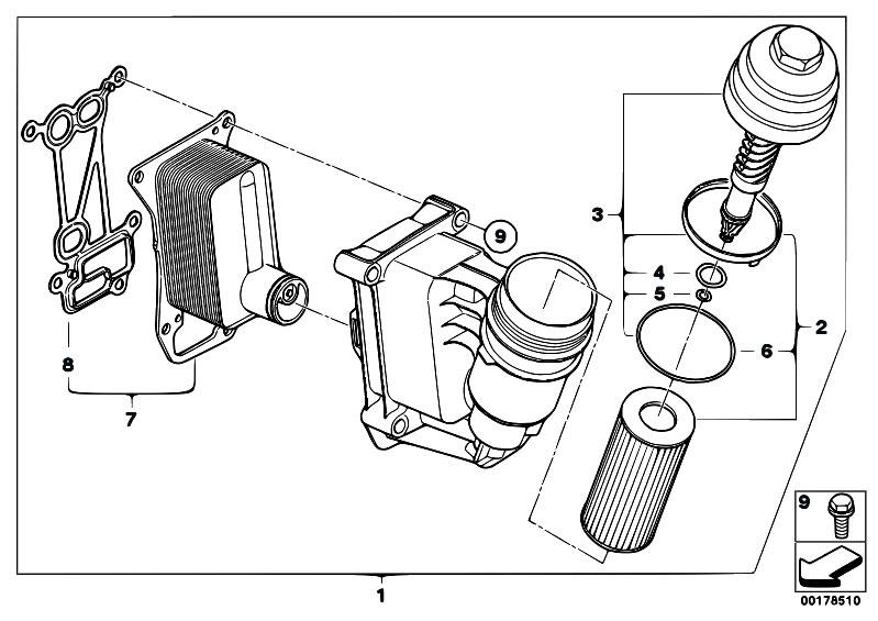 Original Parts for F01 730d N57 Sedan / Engine/ Lubricat