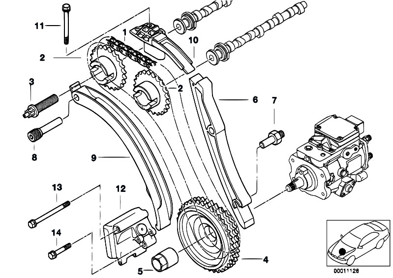 bmw m47 engine diagram