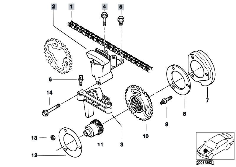 Original Parts for E83 X3 3.0i M54 SAV / Engine/ Valve