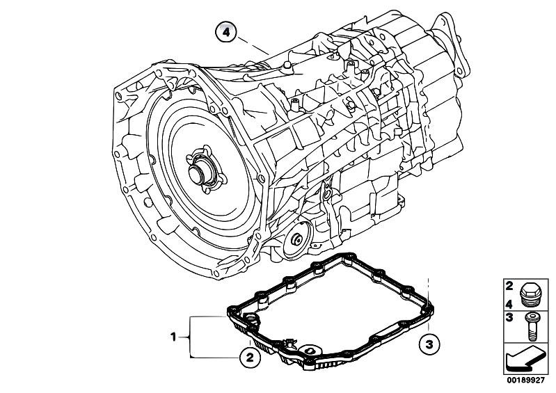 Original Parts for E93 M3 S65 Cabrio / Twin Clutch Gearbox