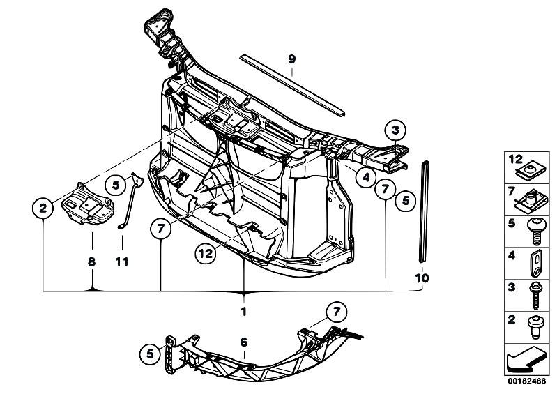 Original Parts for E81 120i N43 3 doors / Vehicle Trim