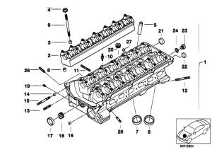 Original Parts for E60 530i M54 Sedan  Engine Cylinder