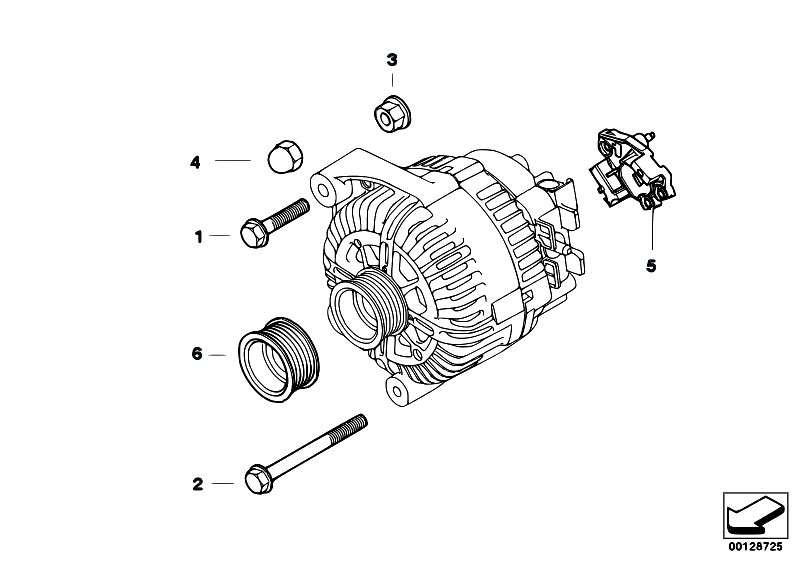 Original Parts for E53 X5 3.0d M57N SAV / Engine