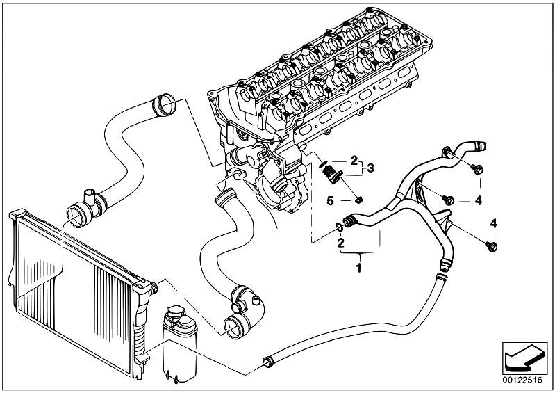 bmw e65 engine diagram