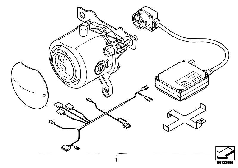 Original Parts for E46 325Ci M54 Coupe / Lighting