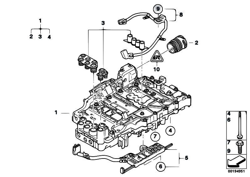 Original Parts for E83N X3 2.5si N52N SAV / Automatic