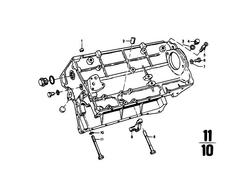 Original Parts for 114 2002ti M10 Sedan / Engine/ Engine