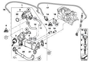 Original Parts for E83N X3 20d N47 SAV  Engine Emission Reduction Cooling 2  eStoreCentral